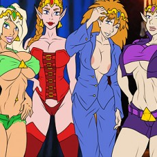 Legend of Zelda: 4 Sluts